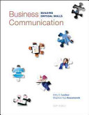 Business Communication: Building Critical Skills 6th Edition