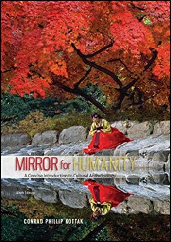 Mirror for Humanity: A Concise Introduction to Cultural Anthropology 9th Edition