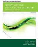 SuperVision and Instructional Leadership: A Developmental Approach (Allyn & Bacon Educational Leadership) 9th Edition