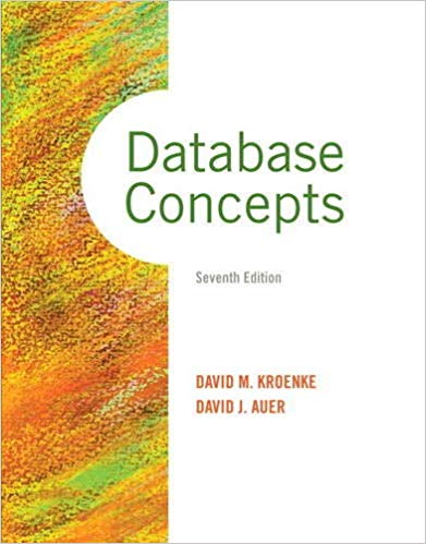 Database Concepts 7th Edition