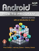 Android How to Program 2nd Edition
