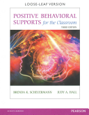 Positive Behavioral Supports for the Classroom 3rd Edition