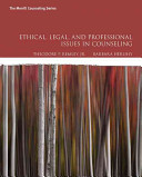Ethical, Legal, and Professional Issues in Counseling 5th Edition