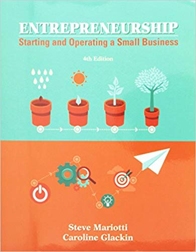 Entrepreneurship: Starting and Operating a Small Business 4th Edition