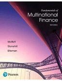 Fundamentals of Multinational Finance 6th Edition