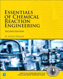 Essentials of Chemical Reaction Engineering 2nd Edition