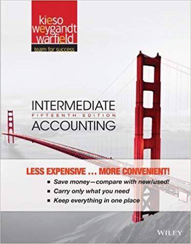 Intermediate Accounting 15th Edition