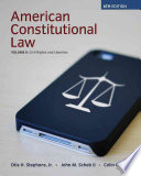 American Constitutional Law, Volume II, Civil Rights and Liberties 6th Edition