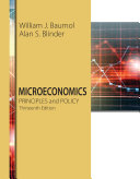 Microeconomics: Principles and Policy 13th Edition