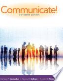 Communicate! 15th Edition