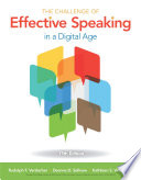 The Challenge of Effective Speaking in a Digital Age 17th Edition