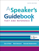 A Speaker's Guidebook: Text and Reference 6th Edition
